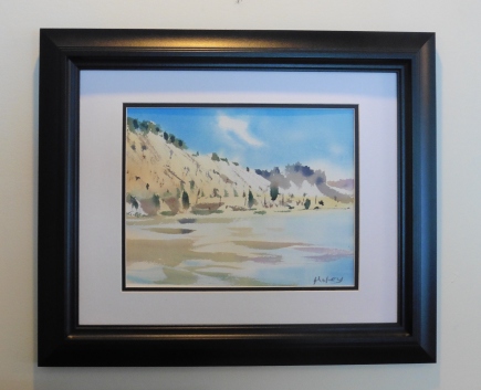 Framing cost / $30 / includes acid free tape and backing paper,